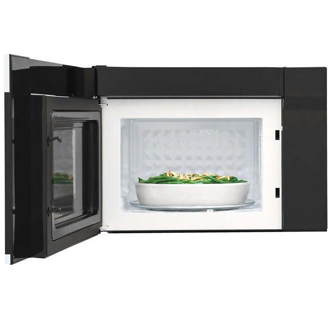 "Over-the-Range Microwave Oven- 24"" - Metal - White"