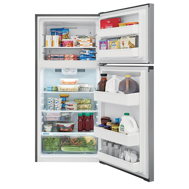 Refrigerator - EvenTemp System- 13.9 cu. ft.- Stainless Steel