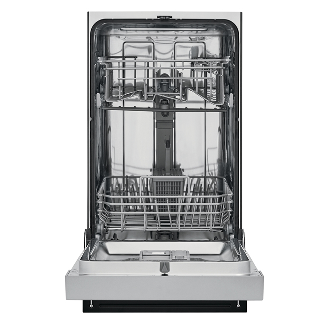 """Built-In Frigidaire Dishwasher - 18"""" - Stainless Steel"""