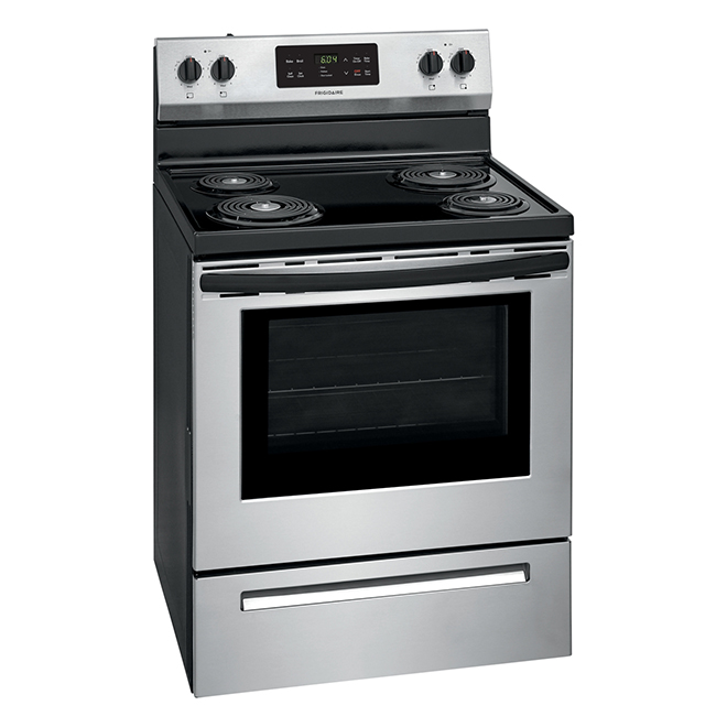 """Frigidaire(R) Self-Clean Range - 30"""" - 5.3 cu. ft. - Stainless"""
