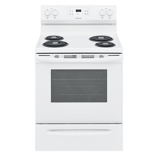 """Cuisinière autonettoyante Frigidaire(MD), 30"""", 5,3 pi³, blanc"""