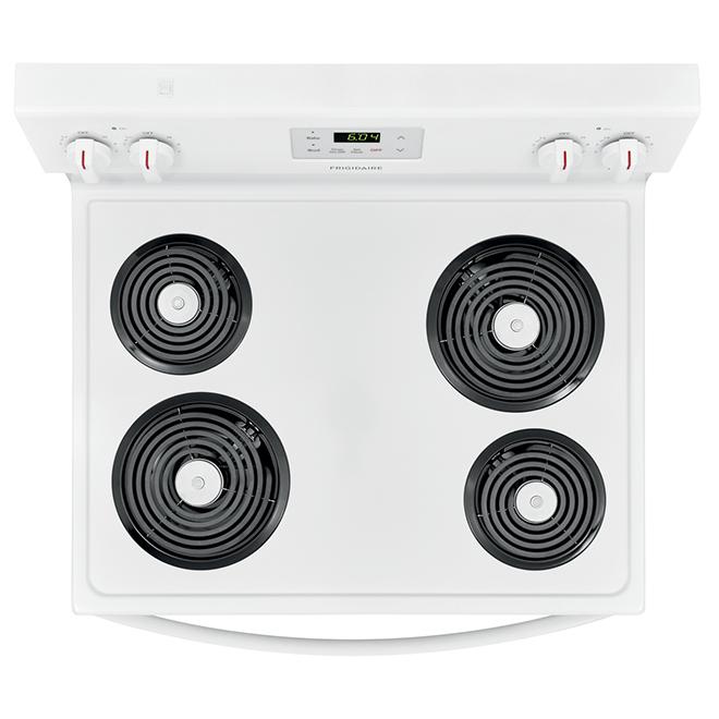 "Frigidaire(R) Coil Electric Range - 30"" - 5.3 cu. ft. - White"