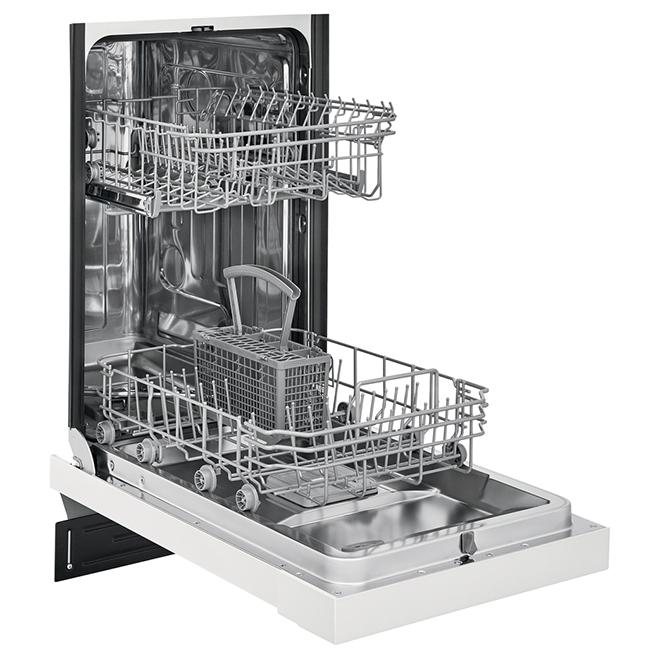 """Lave-vaisselle encastré Frigidaire(MD), 8 couverts, 18"""", blanc"""