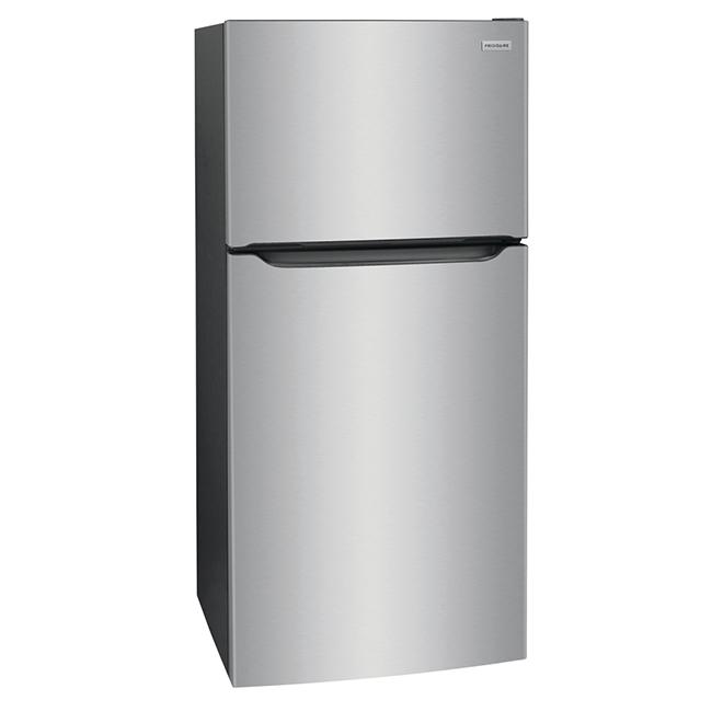 Réfrigérateur congélateur en haut Frigidaire, 18,3 pi³, inox