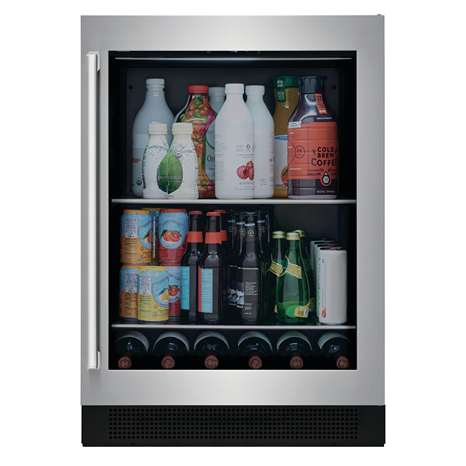Undercounter Beverage Center - Metal - Stainless