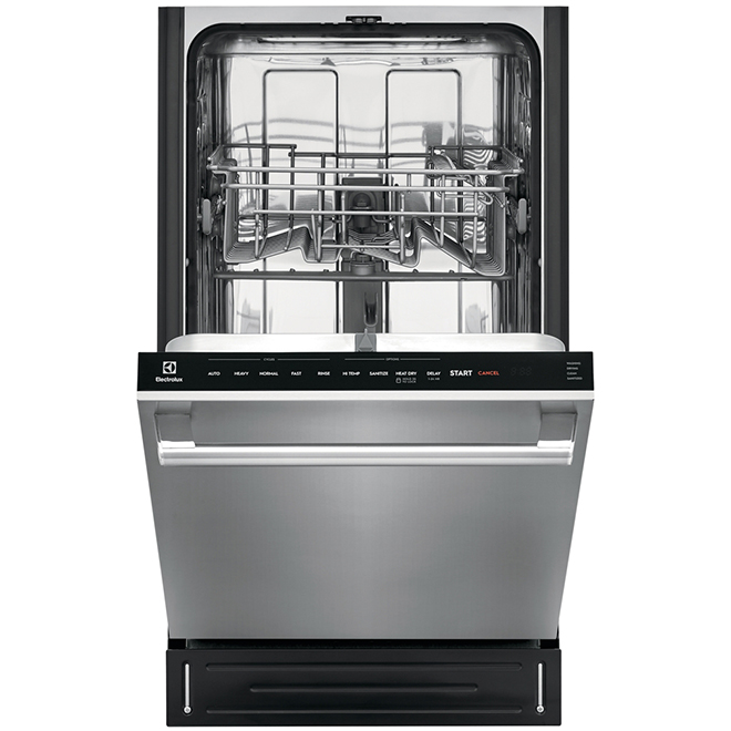 "Built-In Dishwasher - 18"" - Stainless Steel"