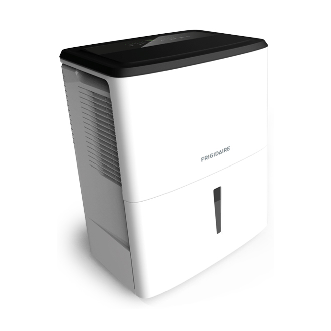 Frigidaire Dehumidifier - 50 pints - Metal - White