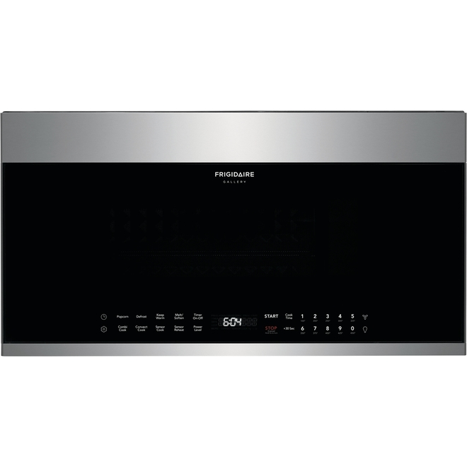 Frigidaire Gallery Over-the-Range Microwave with Convection - 1.5-cu ft - 1450-Watt - Smudge-proof Stainless Steel