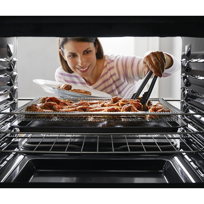Frigidaire Fry Tray Set - Stainless Steel