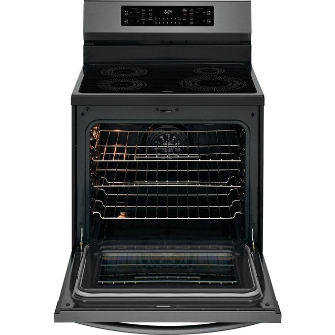 Frigidaire Gallery Induction Range - Convection Oven - 5.4 cu. ft. - Black Stainless Steel