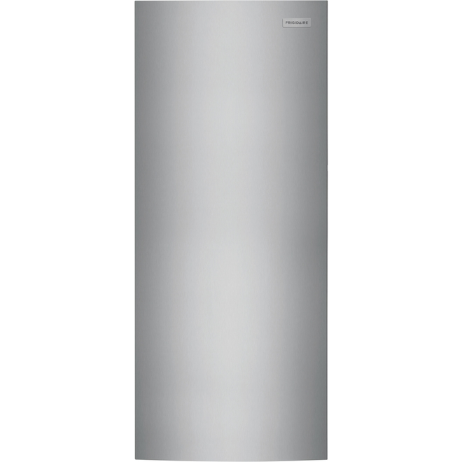 Frigidaire Upright Freezer - 28-in - 16 cu. ft. - Stainless Steel