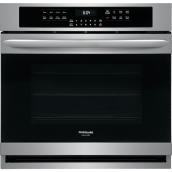 Frigidaire Gallery Electric Single Wall Oven with Air Fry - 30-in - 5.1 cu. ft. - Stainless Steel