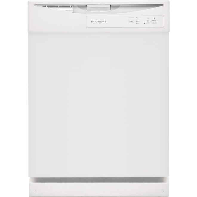 Frigidaire Built-In Dishwasher with Energy-Saver Dry Option - 24-in - White