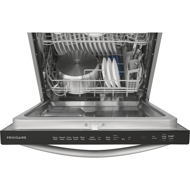 Frigidaire Built-In Dishwasher with EvenDry System - 24-in - Stainless Steel