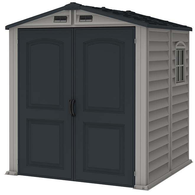 """""""Storemax"""" Garden Shed - Steel - 6' X 6'"""