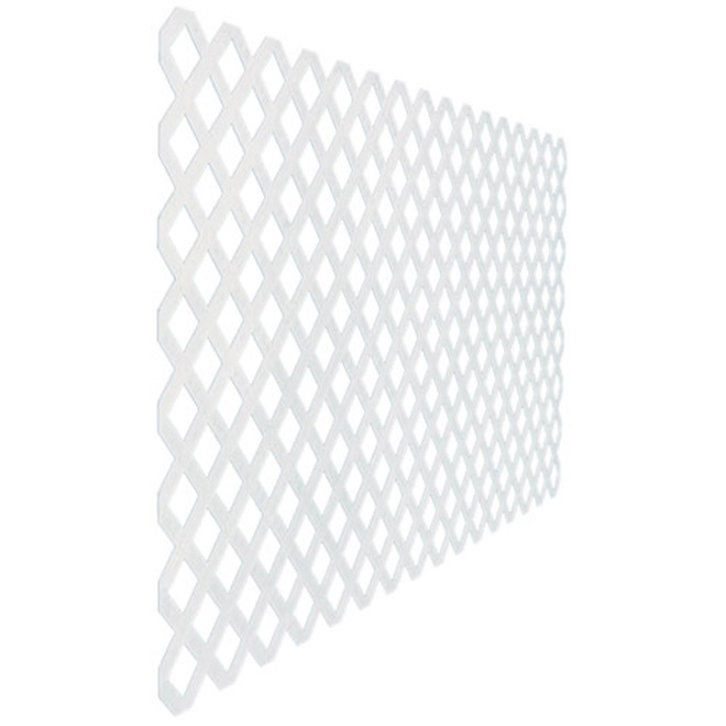 """Classic"" Lattice - 4' x 8' - White"