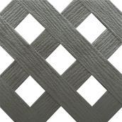 Treillis «Classique», 4' x 8', gris