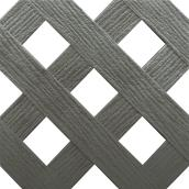 """Privacy"" PVC Lattice - Grey"