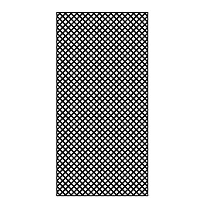 Treilis En Pcv 4 Pi X 8 Pi Noir 73004479 Rona