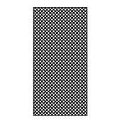 PVC Lattice 4' x 8' - Black