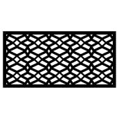 Celtic Outdoor Decorative Panel - 2' x 4' - HDP - Black