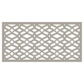 Celtic Outdoor Decorative Panel - 2' x 4' - Clay