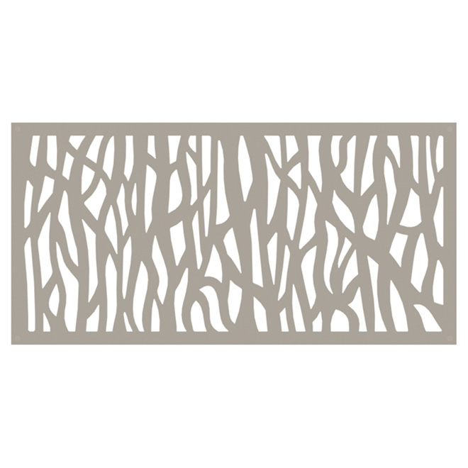 Designer Sheeting Sprig Outdoor Decorative Panel 2 X 4