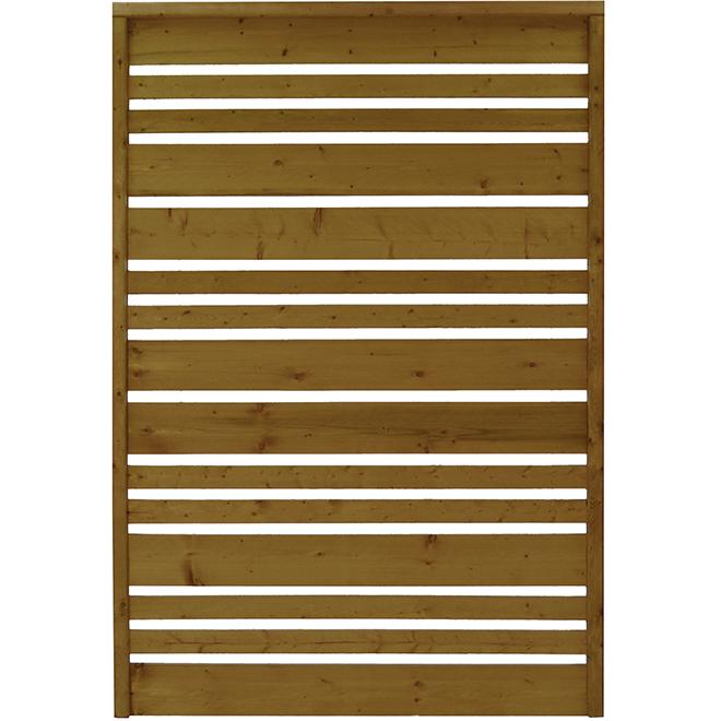 "Airy Panel - Treated Wood - 48"" x 71"" - Tanatone(R) Finish"