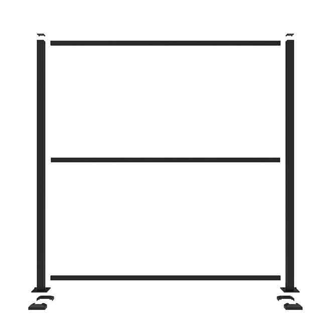 Barrette Panel Frame Kit - Matte Black