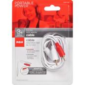 Cable  - 3 ft - White
