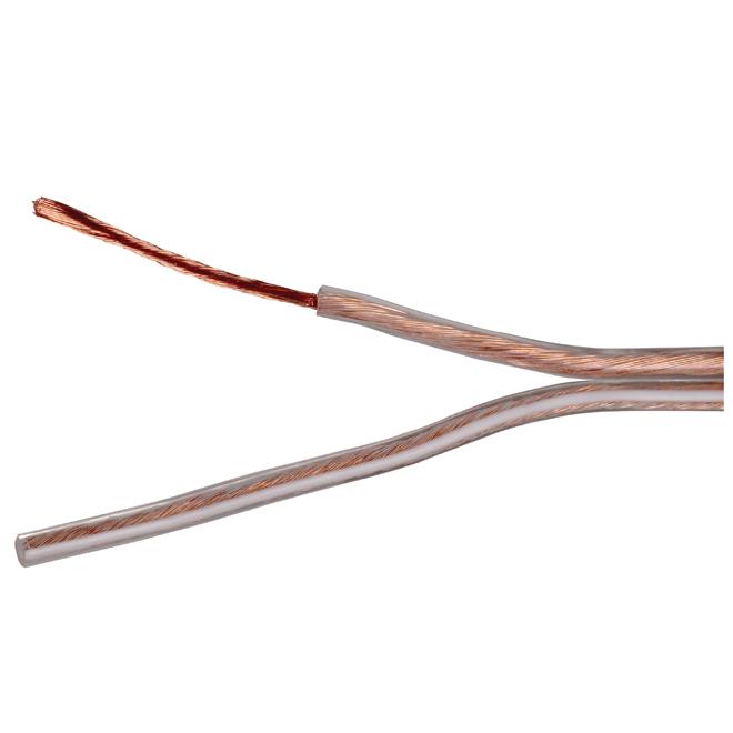 Speaker Wire - Copper/PVC - 50' - Gauge 16 - Gold