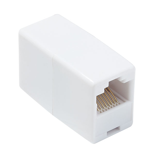 Network Cable Coupler - RJ45 - White