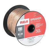 Speaker Wire - Copper/PVC - 50' - Gauge 14 - Gold