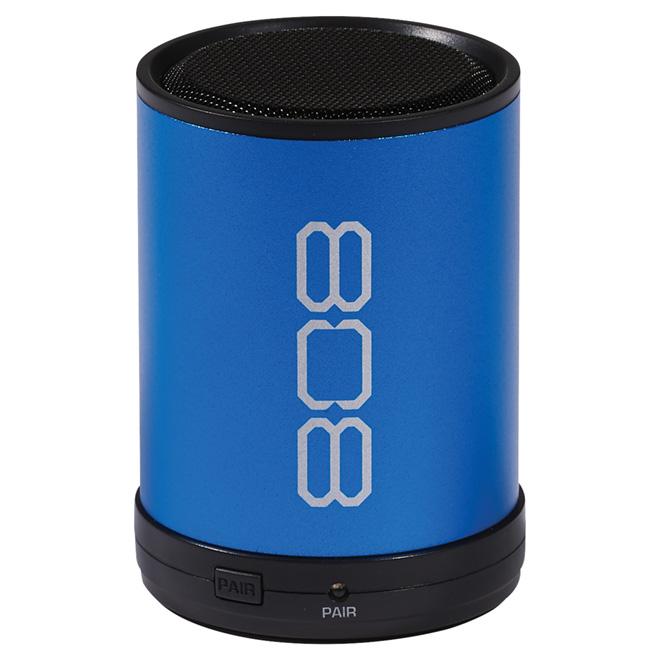 CANZ Mini Bluetooth Wireless Speaker - Round - Blue