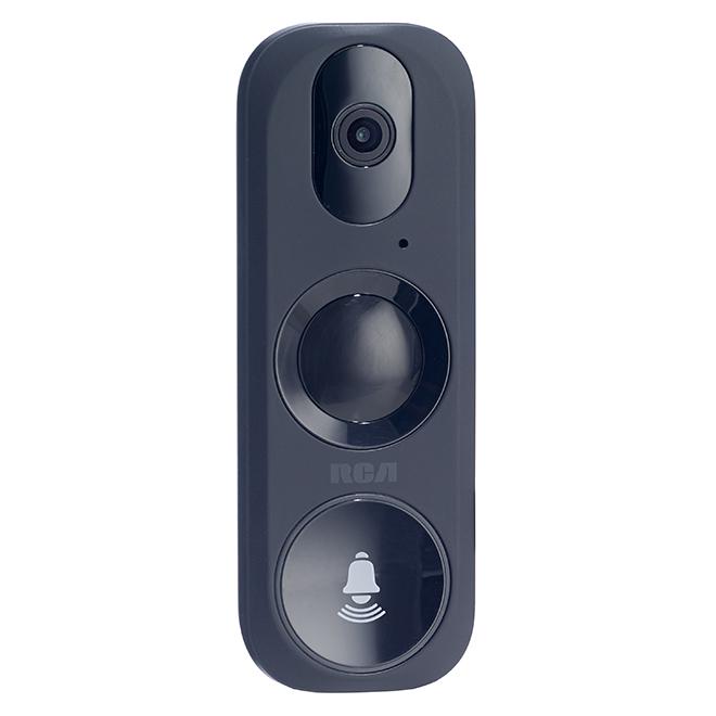 Sonnette vidéo Wi-Fi, voix bidirectionnelle, accès mobile