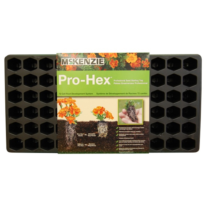 McKenzie Pro Hex Seed Starting Tray - 72-Cell