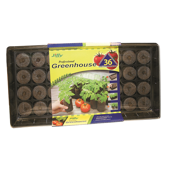 Peat Moss Tomato Greenhouse - 36 Cells