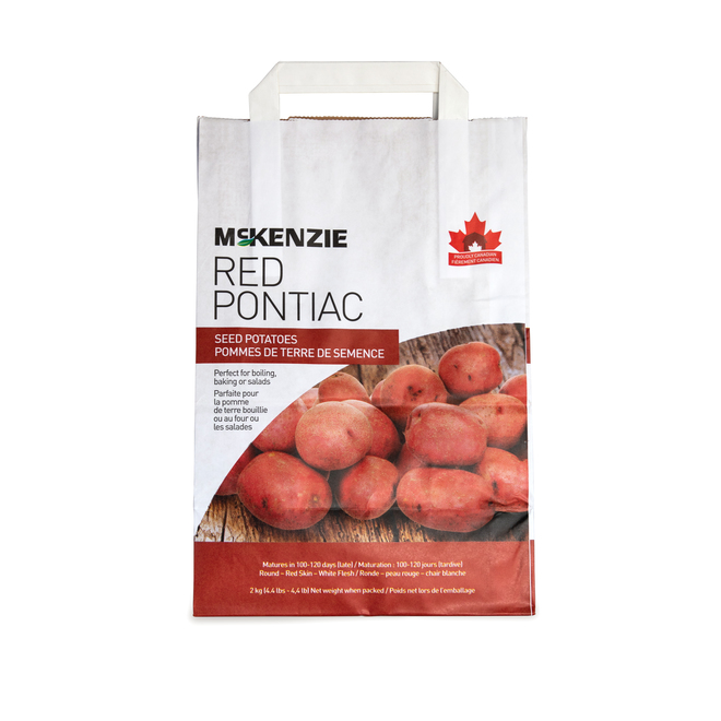 Pontiac Seed Potatoes - 2.2 kg - Red