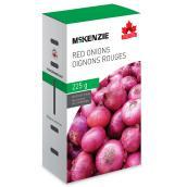Oignon rouge Mckenzie, comestible, 225 g