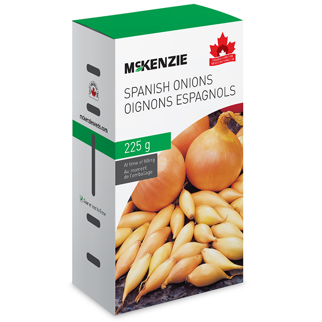 Mckenzie Spanish Onion - Edible - 225 g