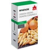 Oignon espagnol Mckenzie, comestible, 225 g