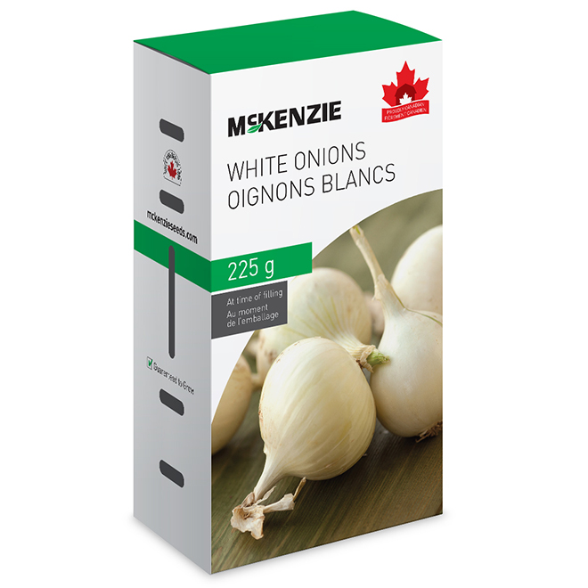 Mckenzie White Onion - Edible - 225 g
