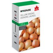 Oignon jaune Mckenzie, comestible, 225 g
