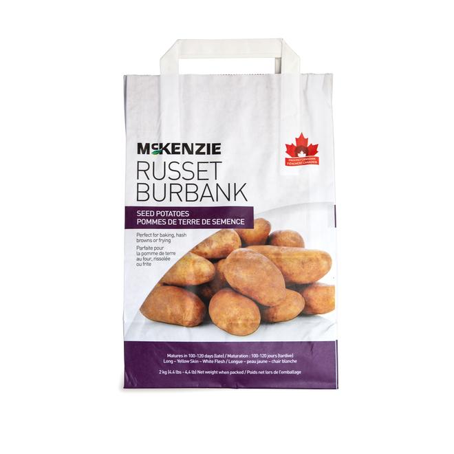 Russet Seed Potatoes - 2.2 kg