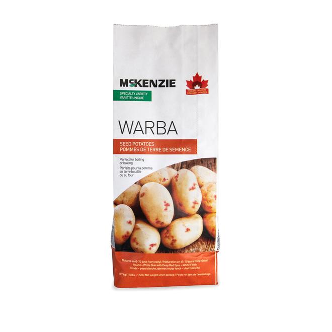 Pommes de terre de semence Warba de McKenzie, 680 g