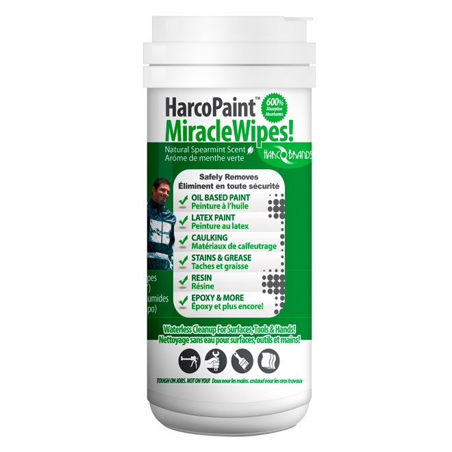 Paint cleaning wipes Harcopaint