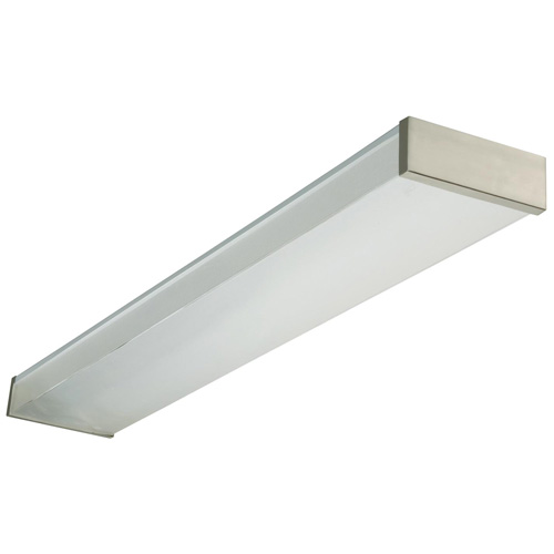 Kitchen Lighting Fluorescent: LITHONIA 48-in Fluorescent Fixture NEW232120REBN