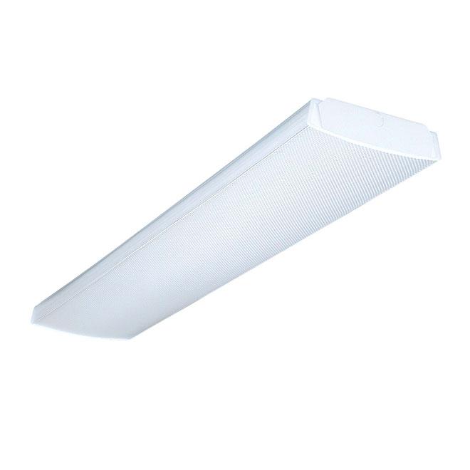 2-Light Wraparound Fluorescent Light Fixture - 48\