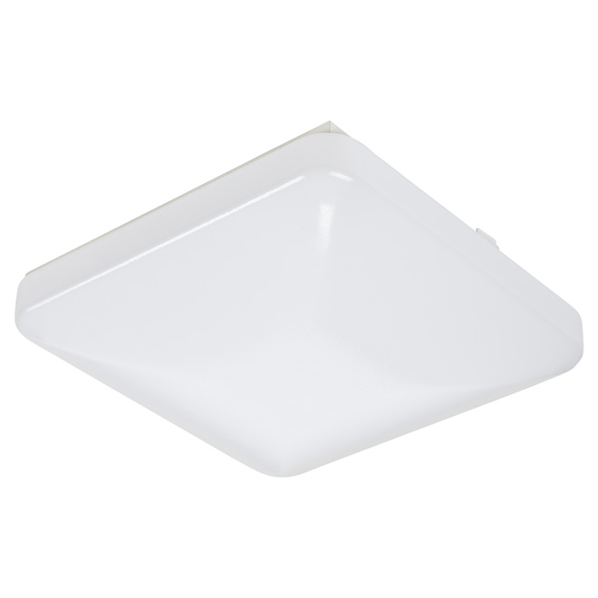 "Square Ceiling Light - 20W LED - 12"" - White"