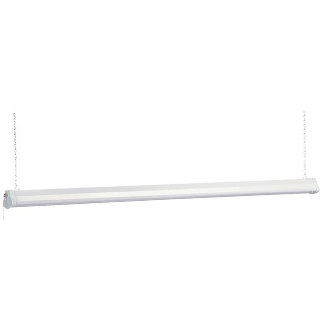Lumière d'atelier suspendue, DEL, 4', blanc